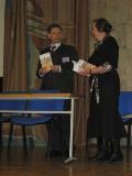 Члены редакционного совета Ю.Н. Столяров и Е.М. Зуева на презентации сборника в Российской государственной детской библиотеке
